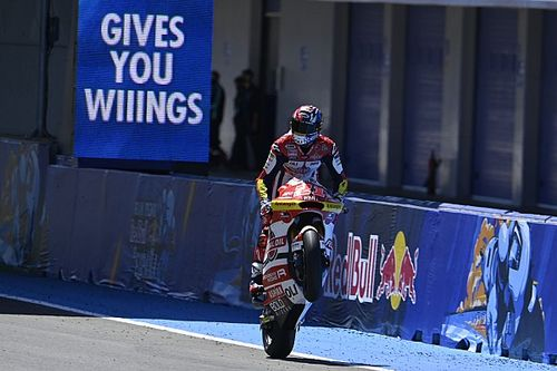 Moto2 Jerez: Di Giannantonio, kariyerinin ilk Moto2 galibiyetini kazandı