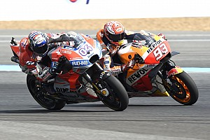 Blufft Marquez? Er schiebt Dovizioso die Favoritenrolle in Motegi zu