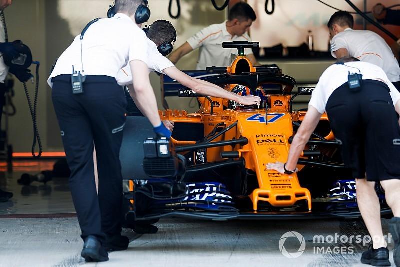 マクラーレン、2019年用F1マシンMCL34の始動シーンをビデオで公開