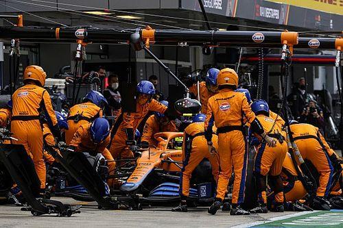 Norris acepta que fallaron al no cambiar de neumáticos en Rusia