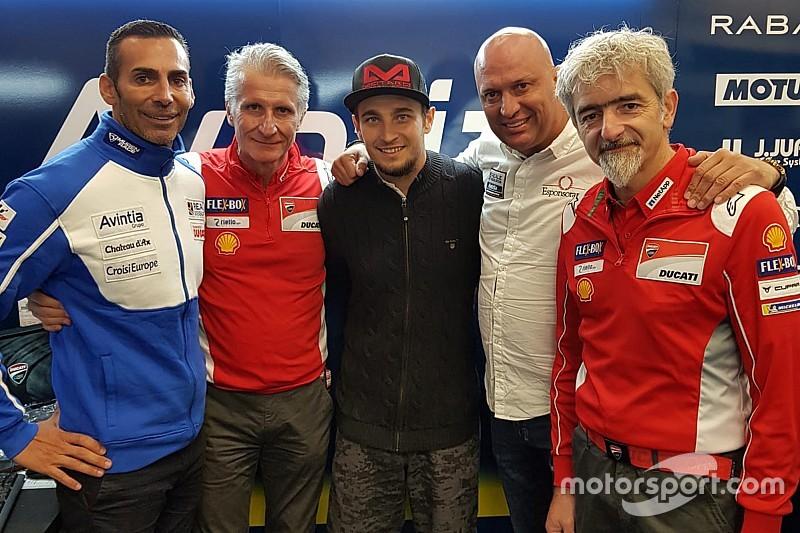 Abraham firma por dos años como piloto de Avintia Ducati en MotoGP