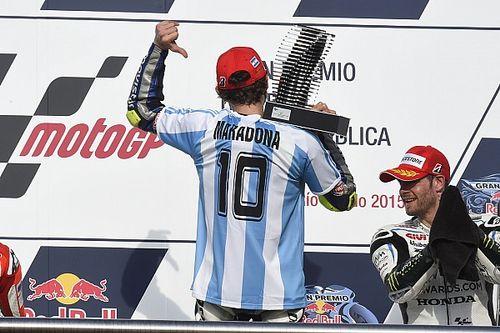 El mundo del motor despide a Maradona