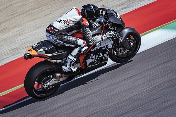 Люти провел первые тесты в MotoGP за рулем KTM