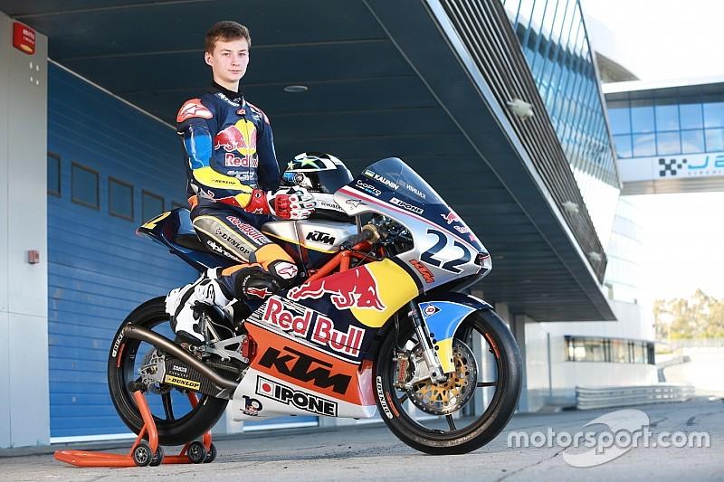 Українець Калінін став восьмим в Ассені серед юніорів MotoGP
