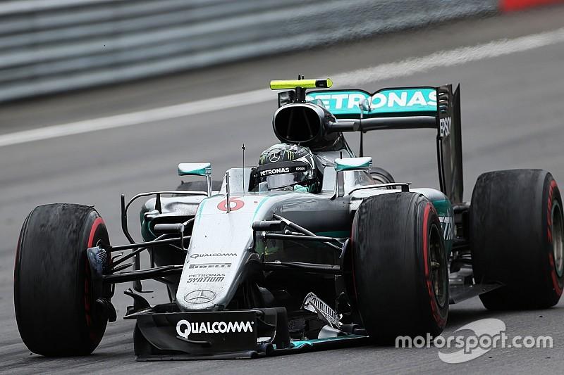 """Nico Rosberg """"punito"""" con dieci secondi ed una reprimenda"""
