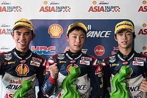 ATC Race report ATC Tiongkok: Gerry bawa Merah Putih berkibar di podium