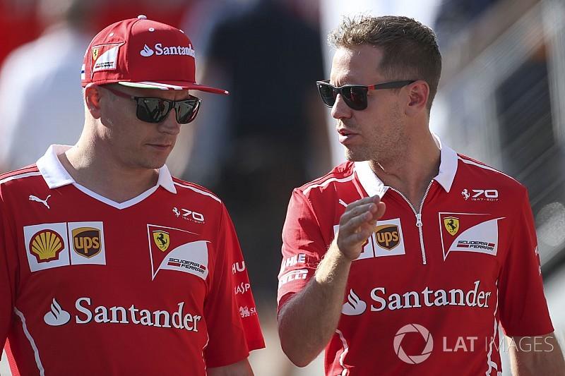 Ferrari, Raikkonen/Vettel'i Monza'da açıklamayı bekliyor