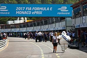 Formule E Actualités Michelin prolonge avec la Formule E jusqu'en 2021