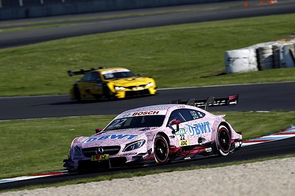 Lucas Auer pole en la carrera del sábado del DTM en Lausitz