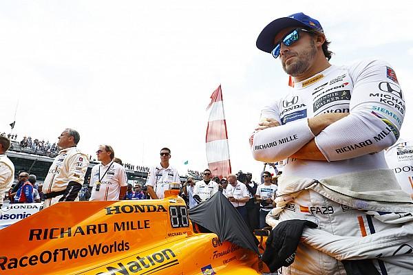 IndyCar Новость Бурдэ: Сейчас Алонсо было бы намного сложнее в Indy 500