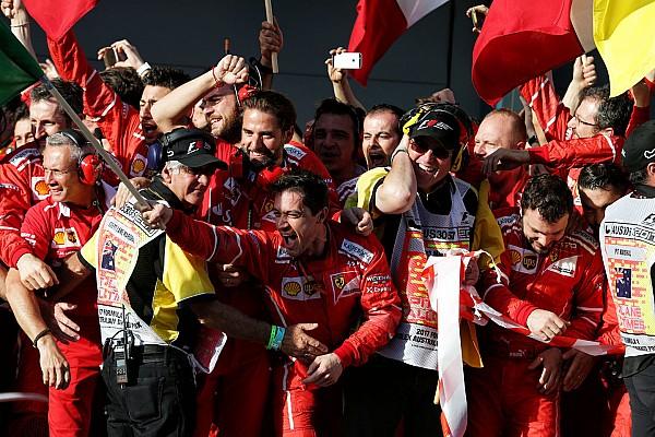 Формула 1 Самое интересное Победа Ferrari в Австралии. Как это было