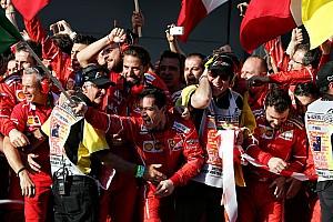 Победа Ferrari в Австралии. Как это было
