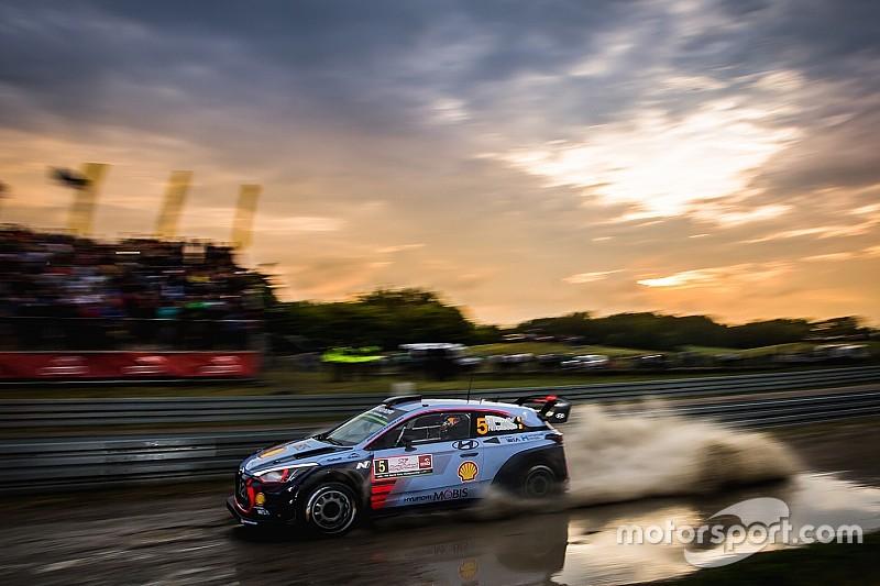 Poland WRC: Neuville catches Tanak to set up Sunday decider