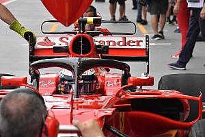Sim racing Motorsport.com hírek Ilyen egy Halóval felszerelt F1-es autóval versenyezni: borzalom?