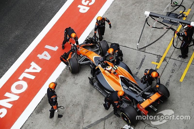 McLaren lanterne rouge au championnat