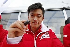 EUROF3 Ultime notizie Guan Yu Zhou confermato da Prema: nel 2018 correrà ancora in F.3