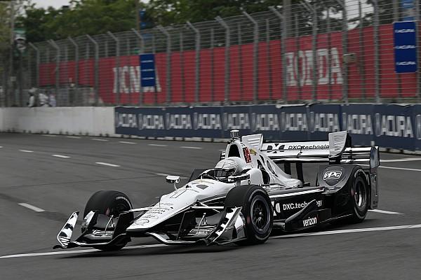 Penske drivers fast but still wrestling with setups