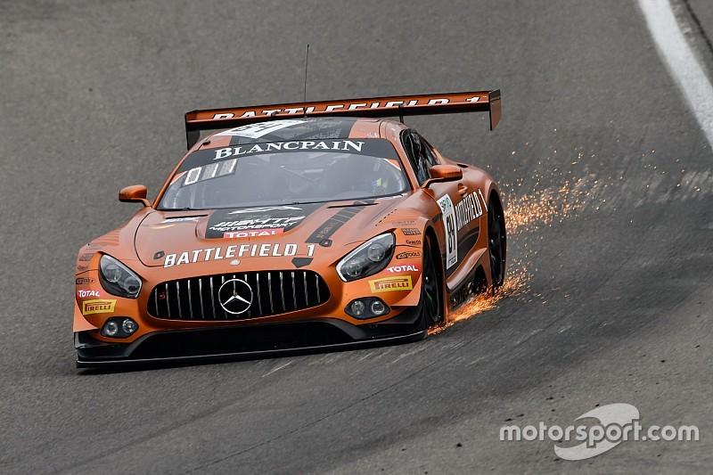 Bunk y Perera vencen en la carrera de clasificación en Nurburgring