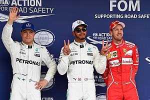 Формула 1 Репортаж з кваліфікації Гран Прі Японії: Хемілтон уперше стартуватиме з поулу на Сузуці