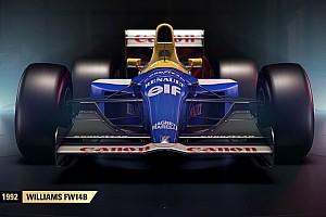 F1 2017: két legendás Williams a játékban