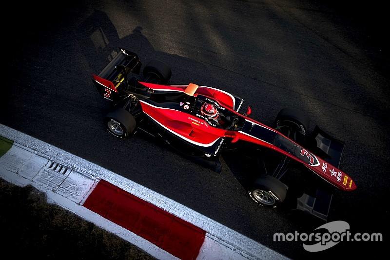GP3モンツァ決勝:PPの福住、トラブルでスタートできず。ラッセル優勝