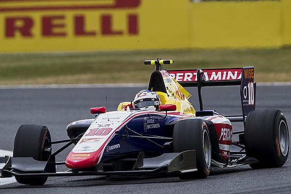 Сын Алези впервые выиграл гонку GP3