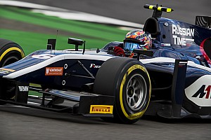 FIA F2 Отчет о гонке Маркелов вырвал третье место на последнем круге гонки Ф2