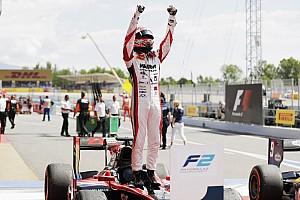 FIA F2 Race report F2 Barcelona: Matsushita juara Sprint Race, Gelael kembali dipenalti