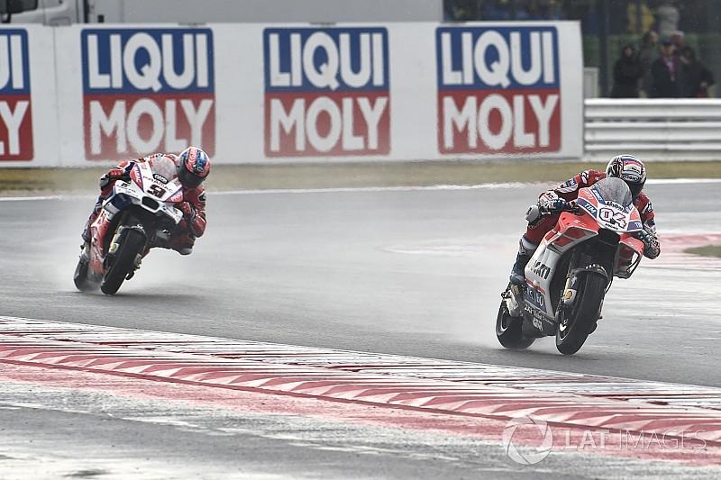 Dovizioso sauve un podium et admet une pointe de déception