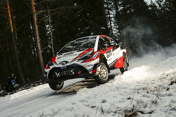 WRC Sweden WRC: Latvala leads after topping Thursday superspecial
