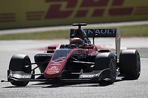 GP3 Qualifying report Barcelona GP3: Renault's Aitken takes pole for season opener
