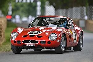 Vintage Haberler Ferrari Goodwood'a çok sayıda klasik ve modern araç getirdi