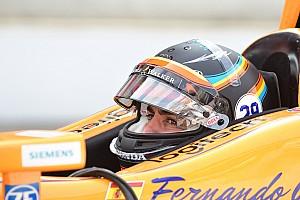 Alonso 5. lett az utolsó indy-s teszten!