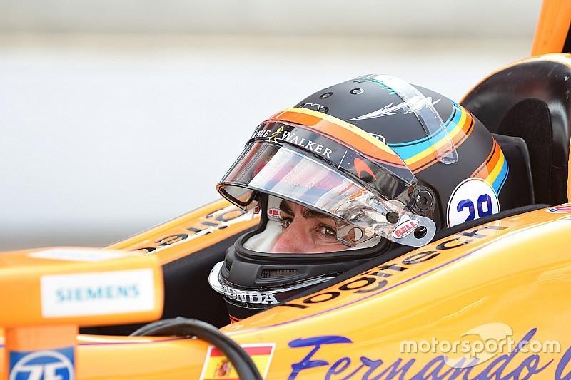 Indy 500: Alonso, sıralamalar öncesi son antrenmanda en hızlı