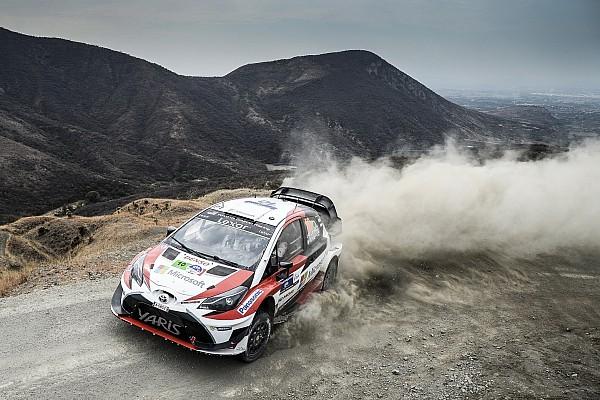 WRC Actualités Un programme de tests intensif pour Toyota