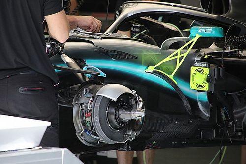 La F1 podría cambiar a frenos carbocerámicos