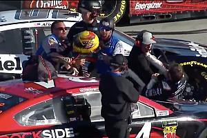 Video: NASCAR-rijders knokken na kwalificatie in Phoenix