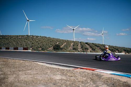 Rafa Câmara é mais uma vez campeão na Europa, na pista do mundial de Kart