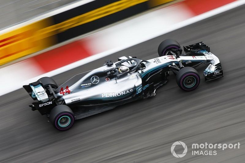 FP2 GP Rusia: Hamilton pimpin Mercedes 1-2, Ferrari melorot