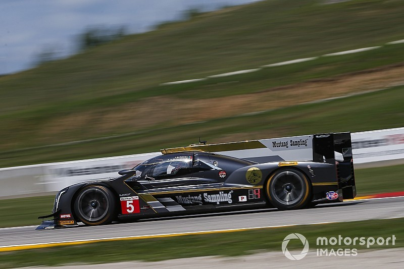 Petit Le Mans: Cadillacs dominate opening practice