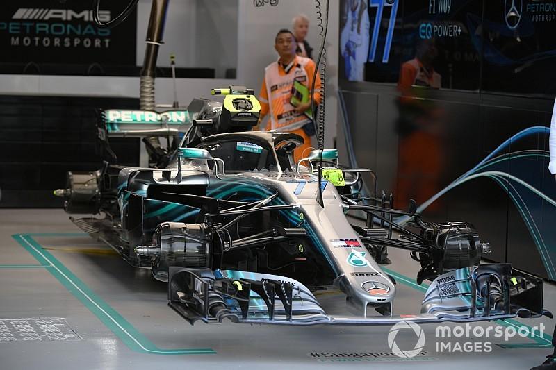Розкрито: технічні трансформації Mercedes у Сінгапурі