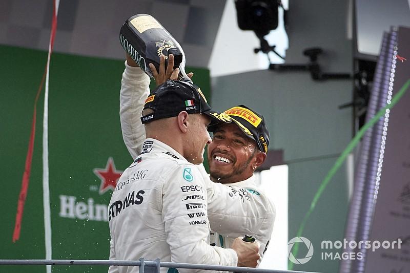 Hakkinen: A két Mercedes egymásért, a két Ferrari egymás ellen versenyez
