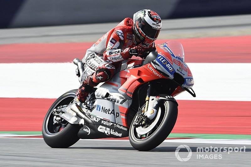Lorenzo blij met bijdrage aan ontwikkeling Ducati