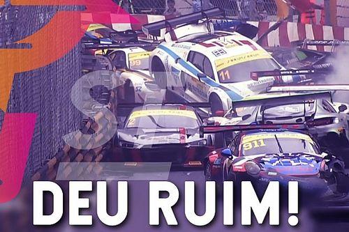 Pr1meiro Stint: veja os maiores engavetamentos do automobilismo
