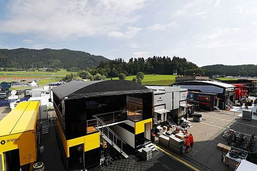 First look inside the closed-door Austrian GP paddock