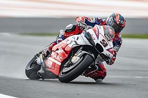 MotoGP Valencia 3. antrenman: Petrucci lider, Rossi kaza yaptı