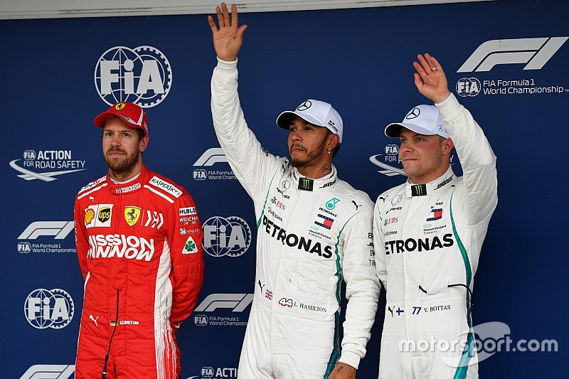 Brezilya GP: Hamilton, 2018'deki 10. pole pozisyonunu aldı
