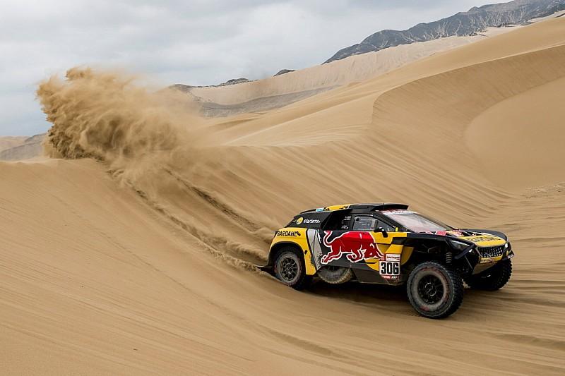 Dakar, Auto, Tappa 2: grande successo di Loeb, ma in vetta alla generale sale De Villiers!