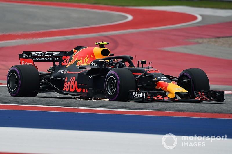 """Verstappen se diz """"espantado"""" com quebra de suspensão"""