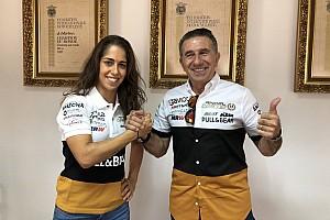 María Herrera correrá la Copa del Mundo MotoE con el Ángel Nieto Team